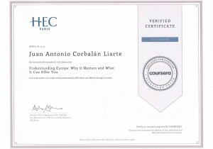 Diploma Undertanding Europe. HEC Paris